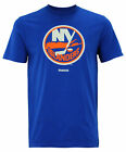 Reebok NHL Hockey Men's New York Islanders Jersey Crest Tee, Blue $12.95 USD on eBay