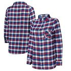 Concepts Sport Chicago Cubs Women's Royal/Red Plus Size Piedmont Flannel on Ebay