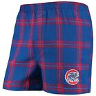Concepts Sport Chicago Cubs Royal Homestretch Flannel Boxer Shorts on Ebay