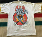 RARE!! VTG T SHIRT TOP 1985 Motley Crue Theatre of Pain World Tour S-2XL image