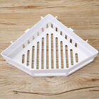 Triangular Shower Caddy Shelf Bathroom Corner Rack Storage Bath Holder Organizer