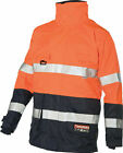 Flame Retardant Jacket Arc Rated Polyester with Carbon Fibre Jacket -ORANGE NAVY