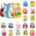 Newborn Toddler Infant Baby Boys Girl Kids Bibs Waterproof Saliva Cartoon Towel