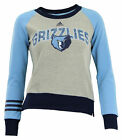 Adidas NBA Youth Girls Memphis Grizzlies Amethyst Fleece Crew, Grey on eBay