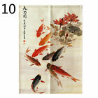 Noren Doorway Curtain Cotton Linen Chinese Door Hanging Drape Room Divider Decor