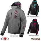 New 2020 FXR FRESH Women's JACKET Grey Linen/Plum Char Jersey/Black/MintFuchsia
