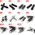 """1"""" Motorcycle Handlebar Hand Grips Fit for Harley Dyna Softail Sportster Touring image"""
