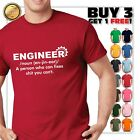 Engineer Mens Funny T Shirt, Gift for Dad Him