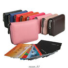 RFID Wallet -Credit Card- Holder-Leather Purse -Stylish- for Men & Women image