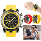 New Stainless Steel Luxury Sport Analog Quartz Modern Men's Fashion Wrist Watch image