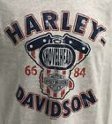 Harley Davidson Men's Shovelhead Pride Short Sleeve Shirt Gray R003149 $28.0 USD on eBay
