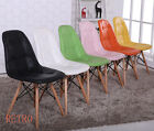 6 x   Retro Eiffel  style Dining/Kitchen/Office  leather Chair  Designer -=-- for sale  Shipping to South Africa