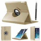 360 Smart Stand Leather Magnetic Case Cover For Apple iPad 4 3 2 mini Air 2 Pro