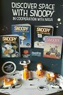 Snoopy NASA 2019 McDonalds Happy Meal ALL Toys #1-#8 & SETS $2.99 Ships ALL