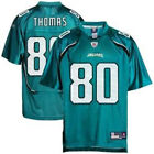 Reebok NFL Men's Jacksonville Jaguars Julius Thomas #80 Replica Jersey - Teal $24.95 USD on eBay