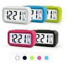 LCD Digital Alarm Clocks Clock Bedside Wake Up Decor Snooze Table Home Kids Gift