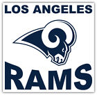"Los Angeles Rams NFL Sport Car Bumper Sticker Decal ""SIZES"" $4.25 USD on eBay"