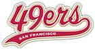 San Francisco 49ers NFL Sport Car Bumper Sticker Decal ''SIZES'' $4.25 USD on eBay