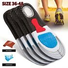 Gel Orthotic Sport Running Insoles Insert Shoe Pad Arch Support Heel Breathable