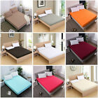 Bed Sheet Bedding Covers Fitted Sheet Sets With Elastic King Double Single Size image