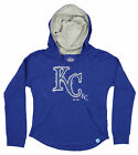Majestic MLB Youth Girls Kansas City Royals The Closer Pullover Hoodie, Blue on Ebay