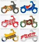 Motorcycle Christmas Ornament Handmade Recycled Aluminum Beverage Can Soda Beer $3.25  on eBay