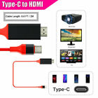 USB-C Type-C to HDMI HDTV Adapter Cable For Samsung S9 S8 S10+ Note 8/9 MacBook