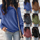Fashion Women's Sweater Knit Jumper Long Sleeve Loose Pullover Casual Sweater 03
