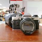 Used Olympus OM-10 and 50mm F1.8 Lens - 1 YEAR GTEE