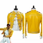 Queen Lead Vocals Freddie Mercury Wembley On Stage Cosplay Costume Jacket Suit