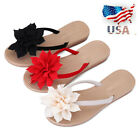 US Women Casual Flip Flops Slippers Summer Shoes Beach Water Ring Toe Sandals