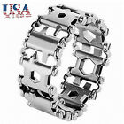 BRAND NEW Leatherman Tread Stainless Steel Multitool Bracelet Multi Tool (BLACK)