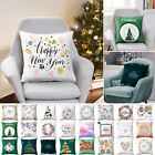 Universal Pillow Case Square insert Cushion Cover For Christmas Home Sofa Decor