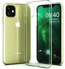 Cover Soft Clear for IPHONE 11 Case TPU + Film Tempered Glass