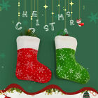 Christmas Stockings Snowflage Xmas Santa Claus Sock Gift Candy Bag Christma Deco