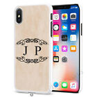 Marbel Wood Personalised Any Name Phone Case Cover for Apple iPhone Models S054