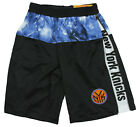Zipway NBA Youth New York Knicks Brilliant Basketball Shorts - Black / Blue on eBay