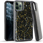 Apple iPhone 11 Marble Flake TPU Case Cover and a Clear Screen Protector