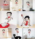 Sexy Girl Betty Boop Wall Sticker Girls Room Bedroom Fashion Wall Decals Vinyl $6.26 AUD on eBay