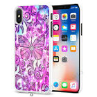 Butterfly Stars Unicorn Phone Case Cover for Apple iPhone Models S070