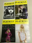 Playbills, Wicked, Meteor Shower, Waitress, Les Miserables