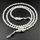 Eyeglass Chains Holders Useful Imitation Pearl Lanyard Beaded Glasses Chain image