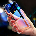 For Huawei P30 P20 Transparent Clear TPU Bumper Protective Phone Case Cover New