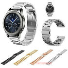 For Samsung Galaxy Watch 46mm / Gear S3 Band 22mm Metal Strap Butterfly Buckle  image