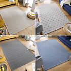 MEDIUM - EXTRA LARGE GEOMETRIC FOLDABLE FLATWEAVE COTTON-BLEND COTONE RUG