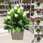 Artificial Potted Bonsai Plant Fake Flower Home Room Garden Decoration Beautiful