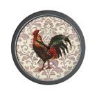 CafePress French Country Vintage Rooster Wall Clock (1619630016)
