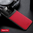 For Huawei Mate 30 20 10 Pro Business Soft Leather Texure Plexiglass Case Cover