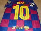 Messi FC Barcelona Champions League Soccer Jersey