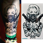 3D Tattoo Waterproof Stickers Removable Temporary Body Arm Fake Art StickerB vv